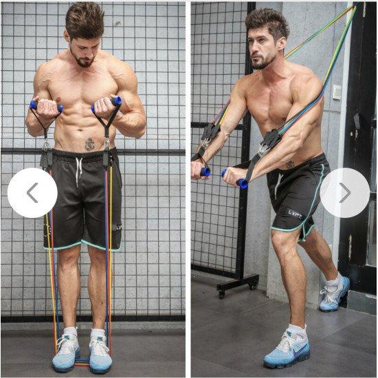 Yoga ropes